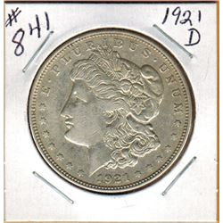 1921D  UNITED STATES MORGAN DOLLAR