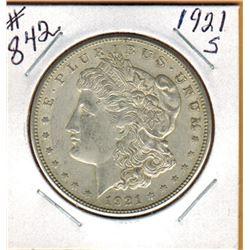 1921S UNITED STATES MORGAN DOLLAR