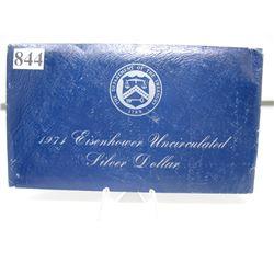 1971s  EISENHOWER UNCIRCULATED SILVER DOLLAR