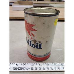 MOBIL OIL PEGASUS EMPTY QT OIL CAN