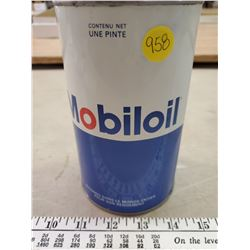 MOBIL OIL EMPTY QT OIL CAN