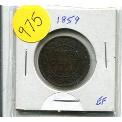 1859 Canadian Large Cent