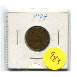1924 Small Cent