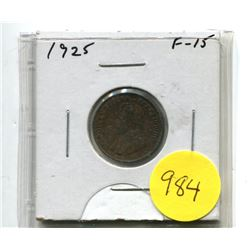 1925 Small Cent
