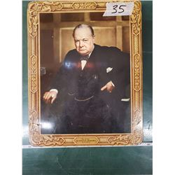 WINSTON CHURCHILL BISCUIT TIN