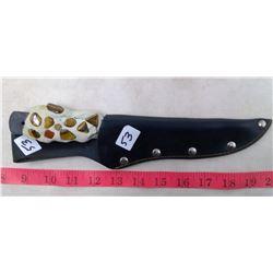 "1964 France No. 450 Bushman Knife 6"" blade"