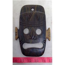 Belize Hardwood Mayan Mask