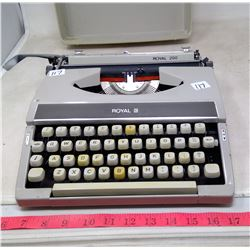 1972 Royal 200 Manual Typerwriter