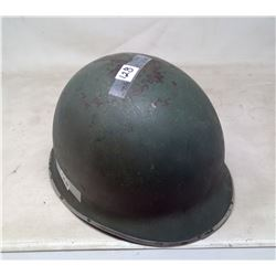 1952 U.S.A. Army Steel Helmet -- Korean War
