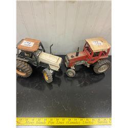 2 Tractors -3294 Case and Massey Ferguson
