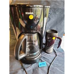 Kenmore 12 cup coffee maker, Black Travel mug