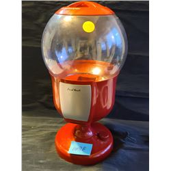 """Final touch"" red battery operated, motion sensor peanut dispenser with 4 settings"