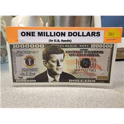One Million Dollars (John F. Kennedy)
