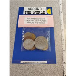World coins, package of 10