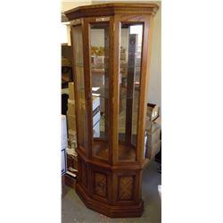 "Curio Cabinet 30""W 72""H 10""D"