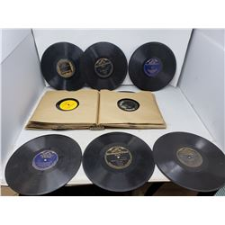 Lot of Antique Records