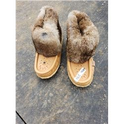 Beaded Fur Boots Laurentian Chies