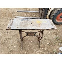 Cast Sewing Machine Base