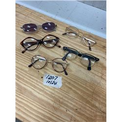 Vintage Eyeware Glasses - 5 pcs