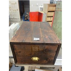 "Wooden File Box 24 X 18 X 12 1/2"""