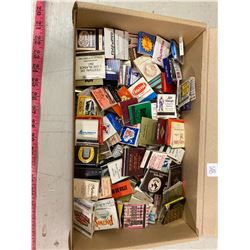 APPROX 160 MATCH BOOK COVERS U.S AND CANADA