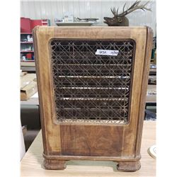 Vintage Wooden Heater Shell