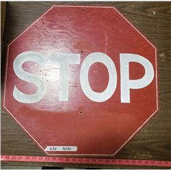 Homemade Stop Sign