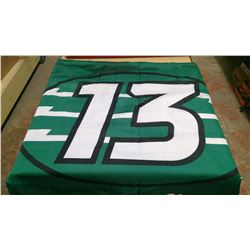 ROUGHRIDER/PILSNER FLAG TWO-SIDED