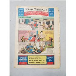 1953 STAR WEEKLY COMIC INSERT
