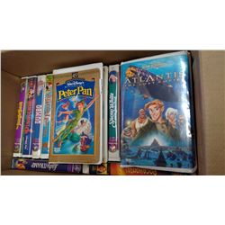 19 ASSORTED CHILDREN MOVIES, VHS AND CVR