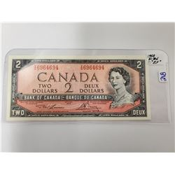 1954 TWO DOLLAR BILL