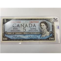 1954 FIVE DOLLAR BILL