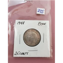 1948 25 CENTS