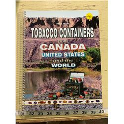 2002 Price Guide Tobacco Containers from US, Canada, and the World