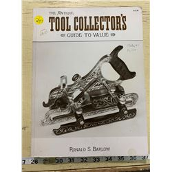 1991 The Antique Tool Collectors Guide to Value