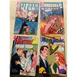 4x 12 Cent Comics 1963, 1964 - Good Condition