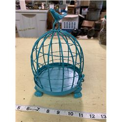 Metal Bird Cage Ornament