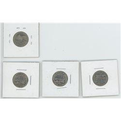 4 2005 US Nickels - 3 w/ Buffalo