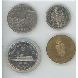 Bridgins 100 Years Centennial Dollar - Century Saskatoon 1882-1982, Confederation 1982, Dollar, 1974