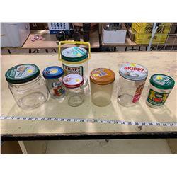 7 Peanut Butter Jars