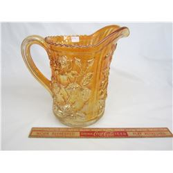 Carnival glass Luster Rose Water Jug no damage