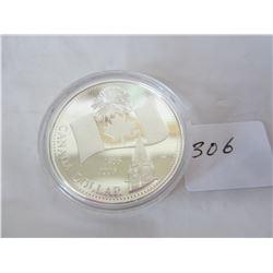CanadianFlag Silver Dollar .999 Silver
