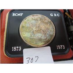 1973. RCMP Silver Dollar