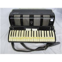 Italian made accordion and case