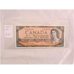 1954 Fifty Dollar Bill Nice