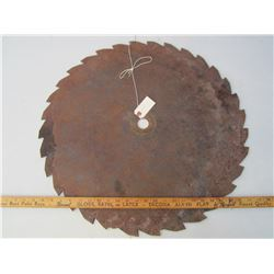 Antique Saw Blade 25 inches across