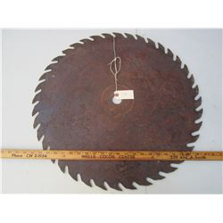 Antique Saw Blade 24 inches across