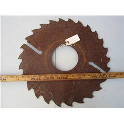 Antique Saw Blade 18 inches across
