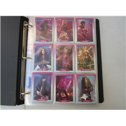 1991 Heavy Metal Trading Cards in Binder