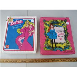 Lot of 2 1968 Barbie Doll Cases